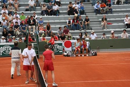 2007年 全仏オープンテニス観戦
